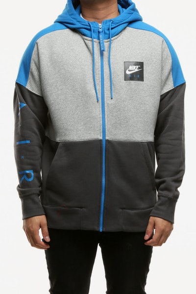 Nike Men's Sportswear Hoodie Dark Grey Heather