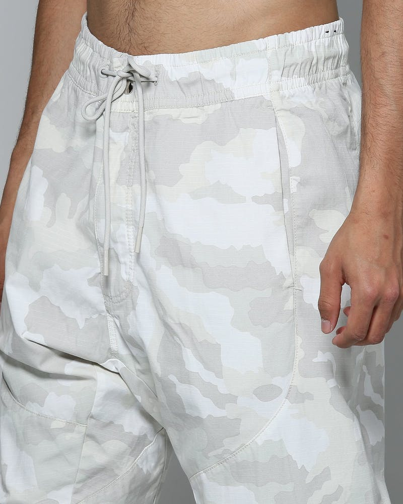 Nike Sportswear NSW Men's Woven Camo Joggers White/Bone