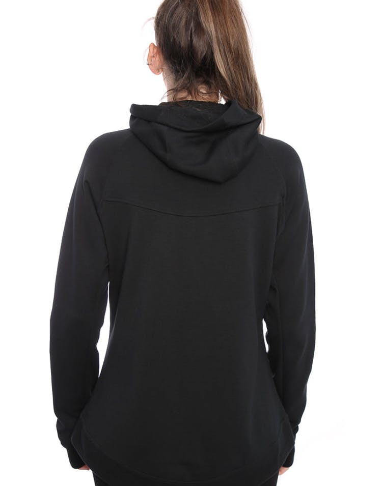 c776600e8b9c Nike Women s Tech Fleece Hoodie Black Black – Culture Kings NZ