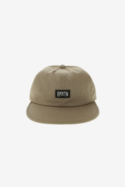 Brixton Langley Cap Washed Mocha