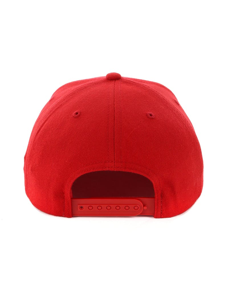 Brixton Forte Snapback Red