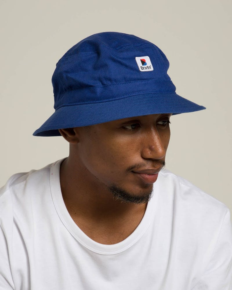 Brixton Stowell Bucket Hat Royal