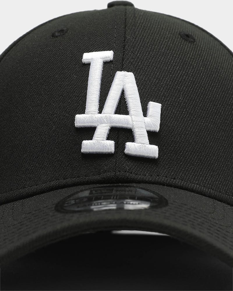 New Era Dodgers 3930 Fitted - Black/White
