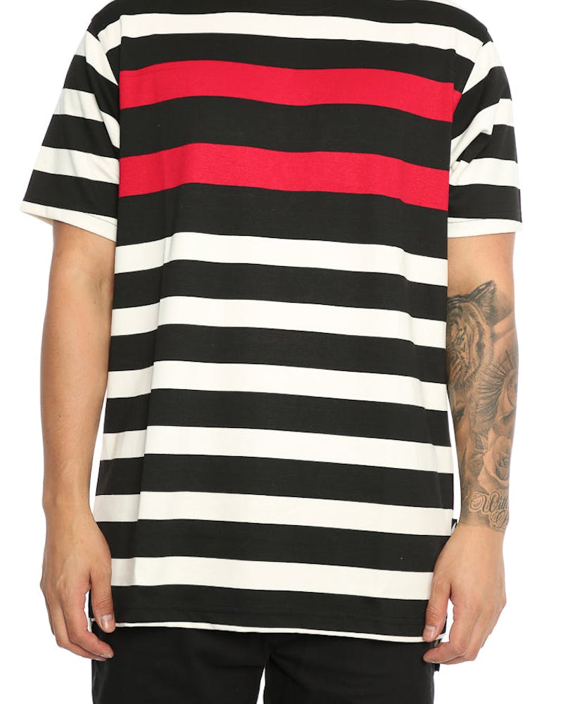 Publish Vance Short Sleeve Tee Red