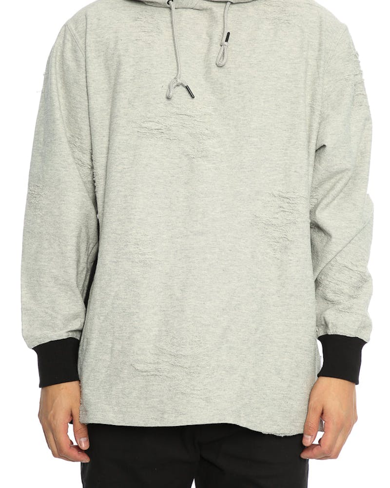 Publish Zain Hood Heather Grey