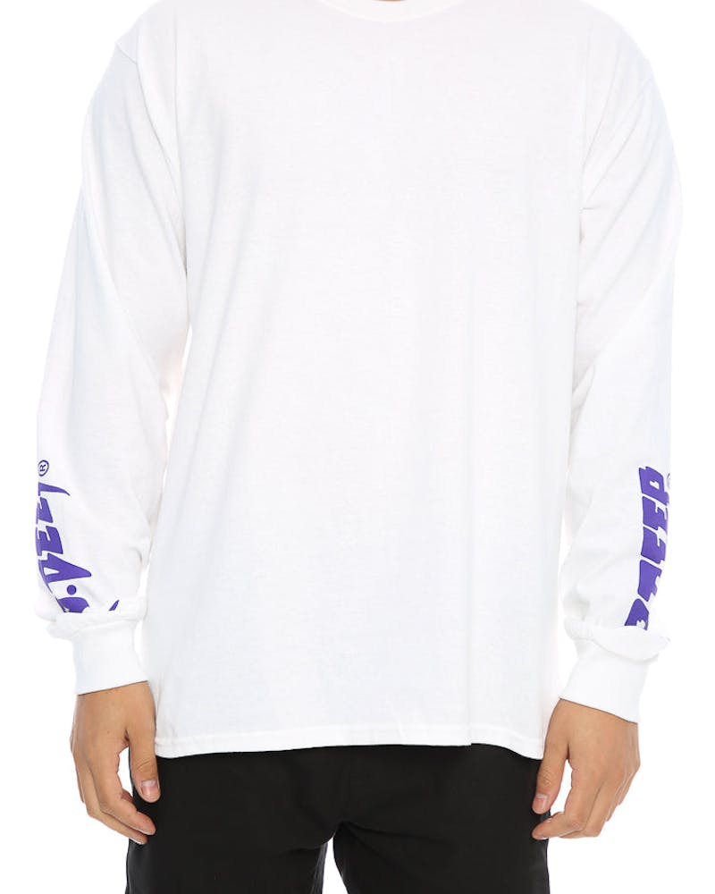 10 Deep Sound and Fury LS Tee White