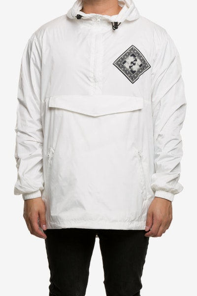 10 Deep Until The End Bandana Pullover Off White