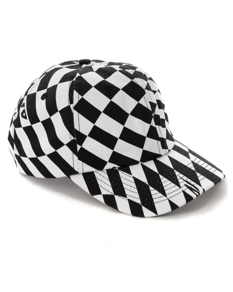 10 Deep Distortion Hat White