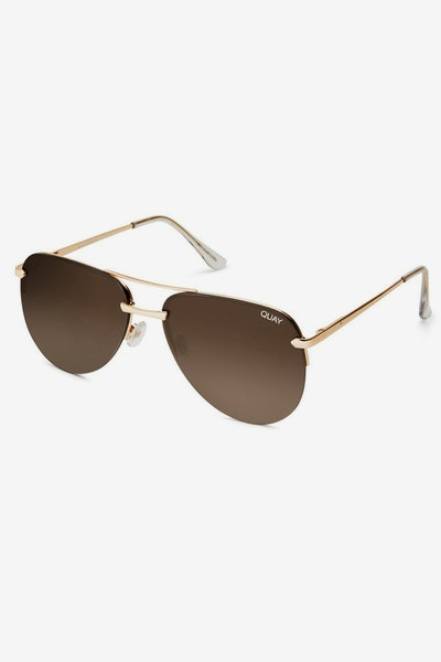 Quay Australia The Playa Gold/Brown