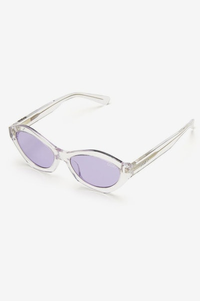 Quay Australia As If! Clear/Purple