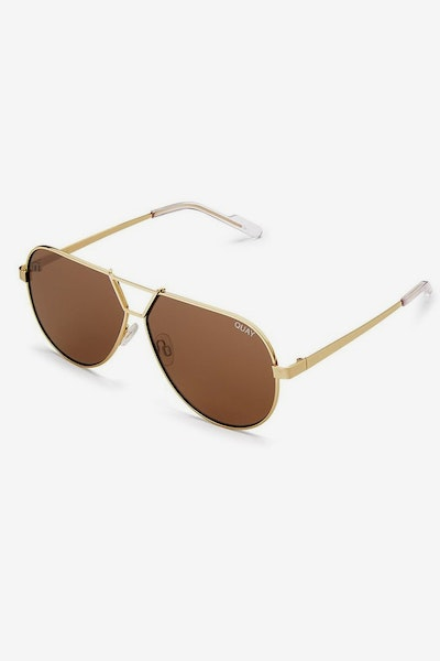 Quay Australia Supernova Gold/Brown