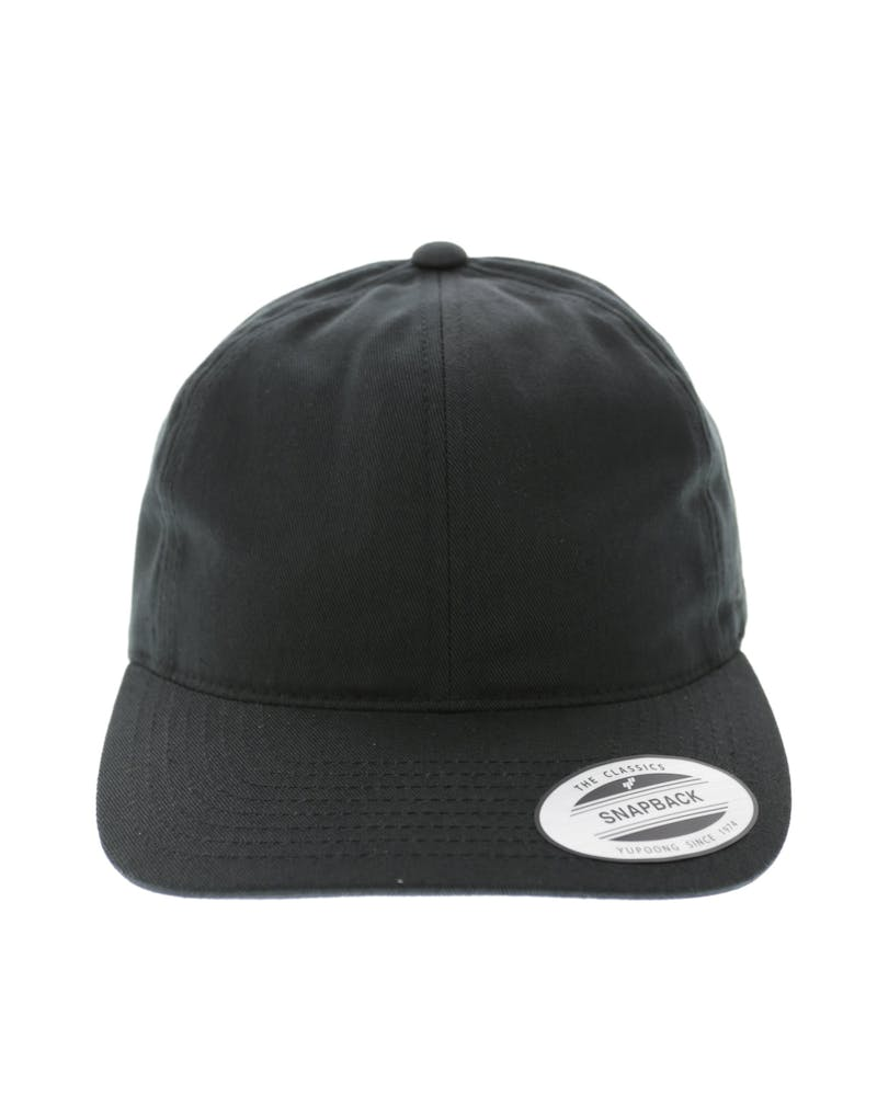Flexfit SV Dad Hat Snap Back Black