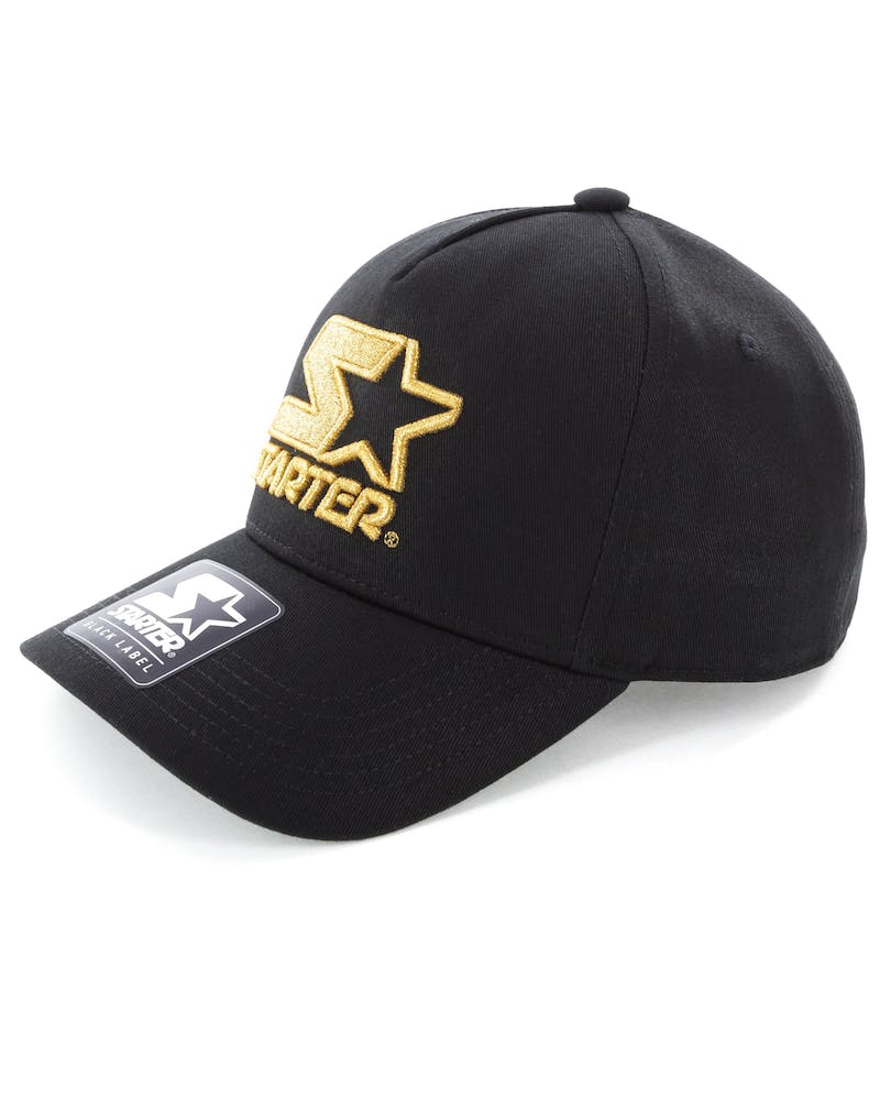 Starter X Culture Kings Throwback Snapback Black/Gold