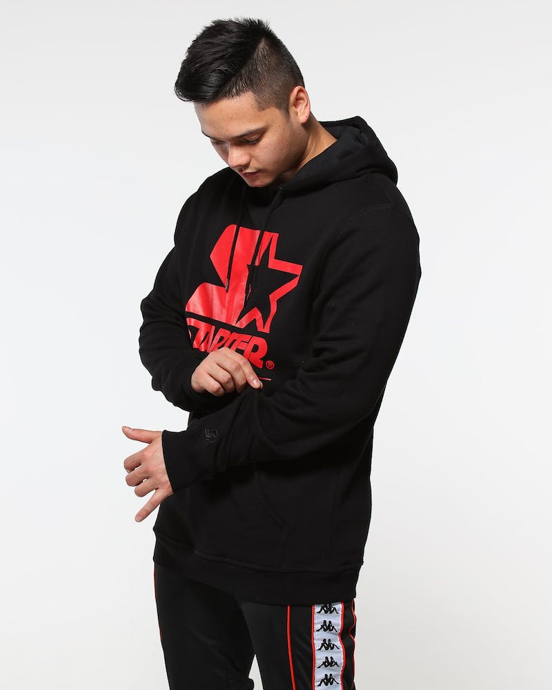 Starter X Culture Kings Threat Fleece Hood Black