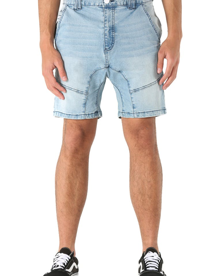 Nena and Pasadena Flight Denim Short Dakota Blue