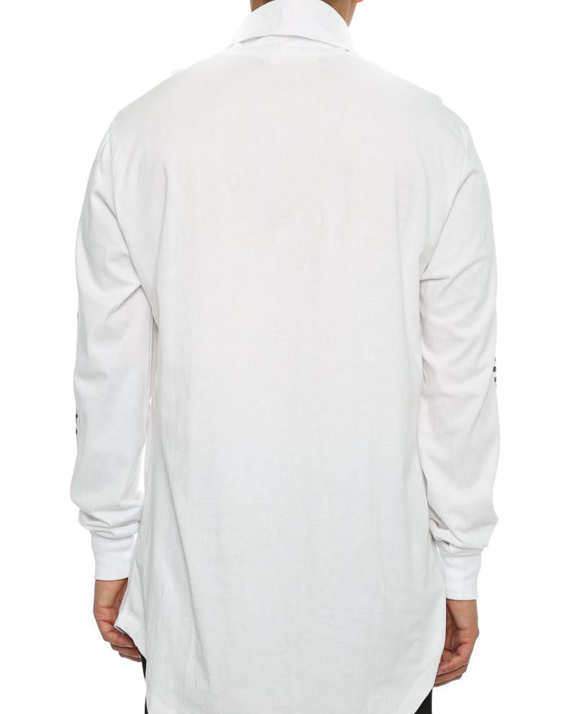 Sushi Radio Vengeance Long Sleeve T-Shirt White