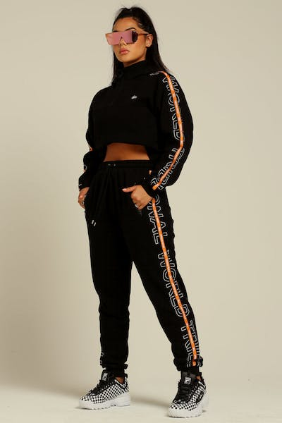 Stussy Women's Court Trackpant Black