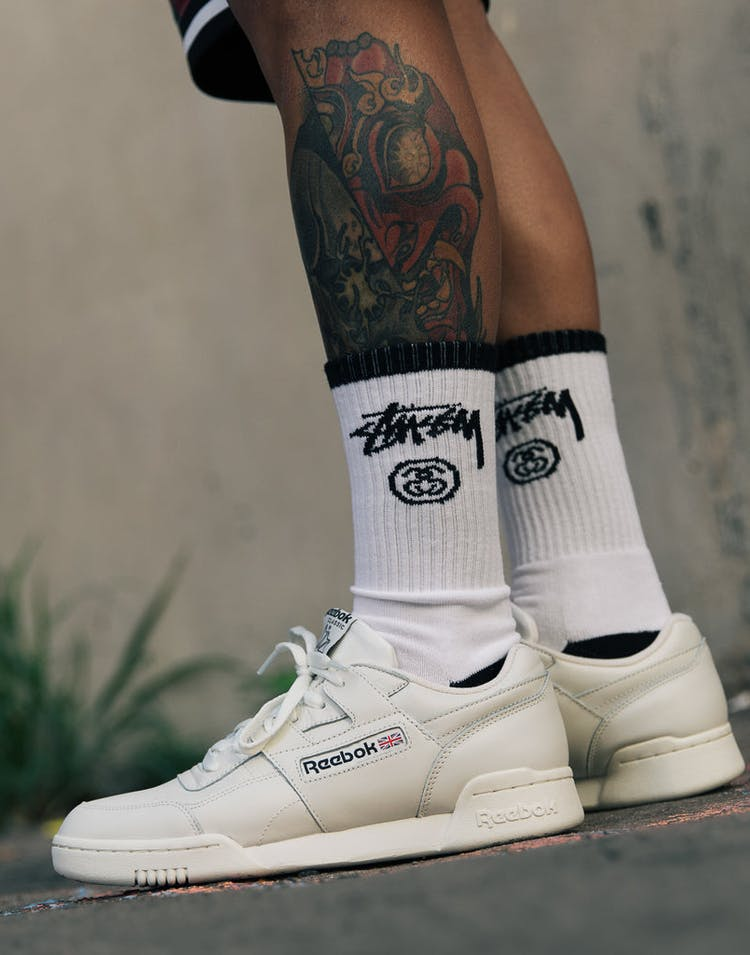 0cbbb27f16c Stussy Stock Crew Socks 3 Pack Black White – Culture Kings NZ