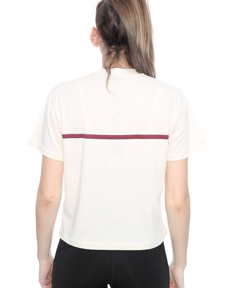 STUSSY SOOZIE SS TURTLENECK TEE OFF WHITE