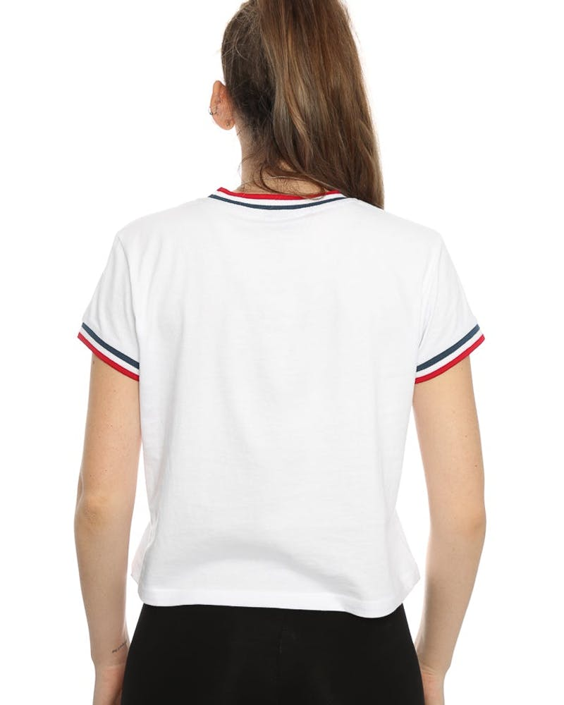 Stussy Ladies NYC Tee White