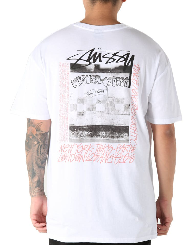 Stussy King Of Kings SS Tee White