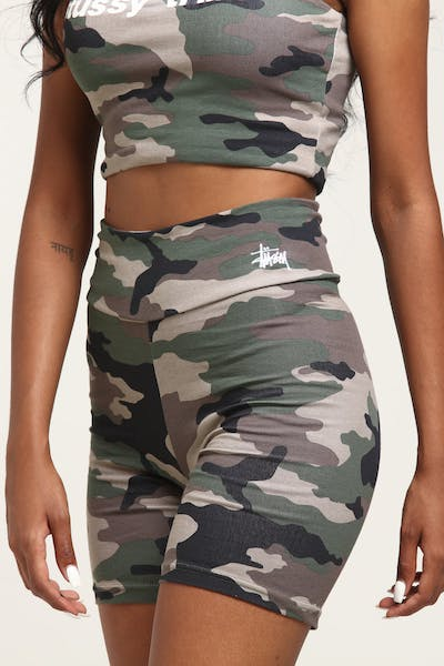 Stussy Women's Tribe Bike Short Camo