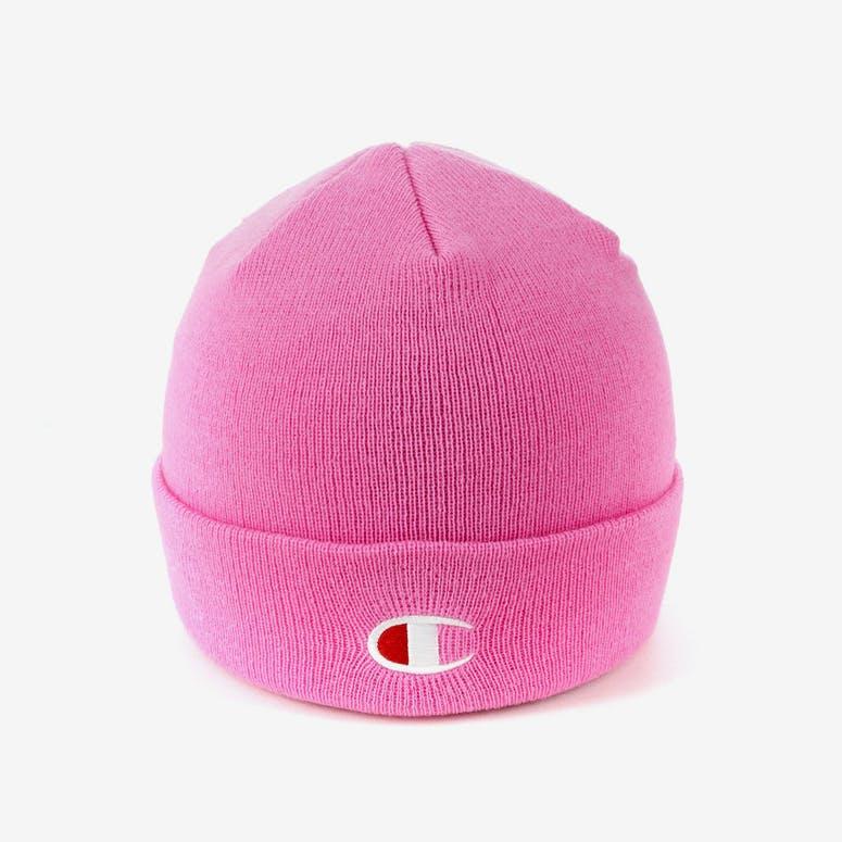 d2f46f702e8d9 Champion C Life Logo Beanie Pink – Culture Kings NZ