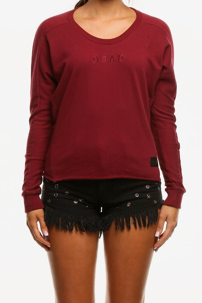 Dead Studios Women's Lost Me Crew Port