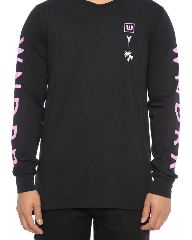 WNDRR Redeye Long Sleeve Tee Black