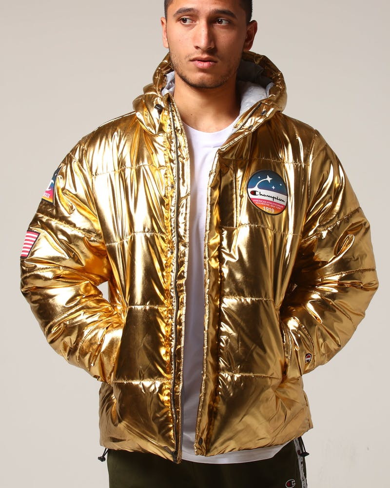 Champion Nasa Metallic Puffer Gold