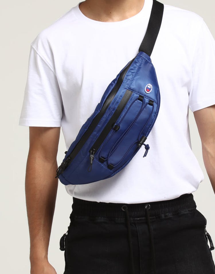 Champion C Life Script Waist Bag Blue