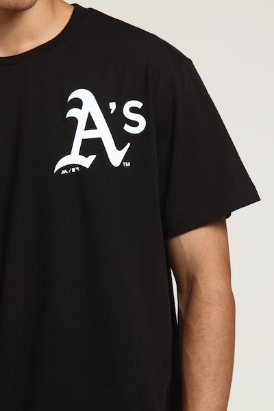 Majestic Athletic Oakland Athletics Jeaner Tee Black