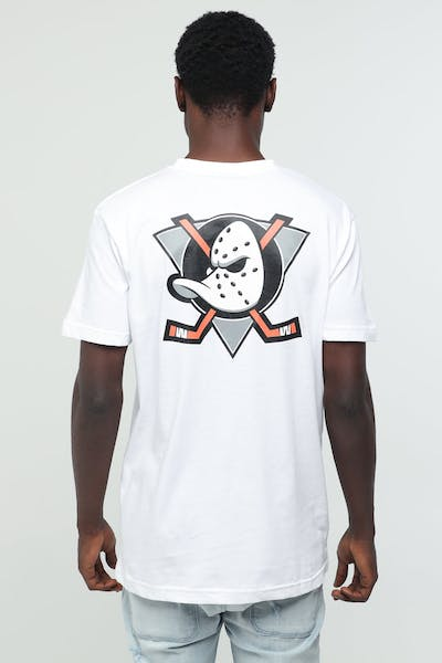 MAJESTIC ATHLETIC DUCKS NHL CREST SS TEE White