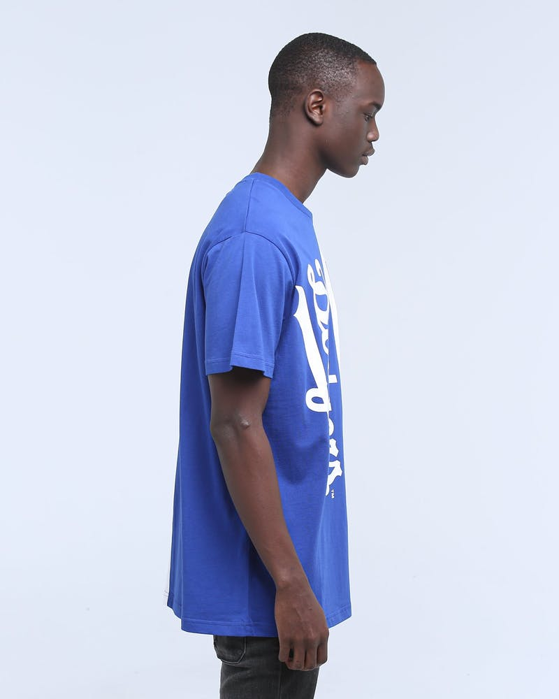 Majestic Athletic Los Angeles Dodgers Split Tee Royal/White