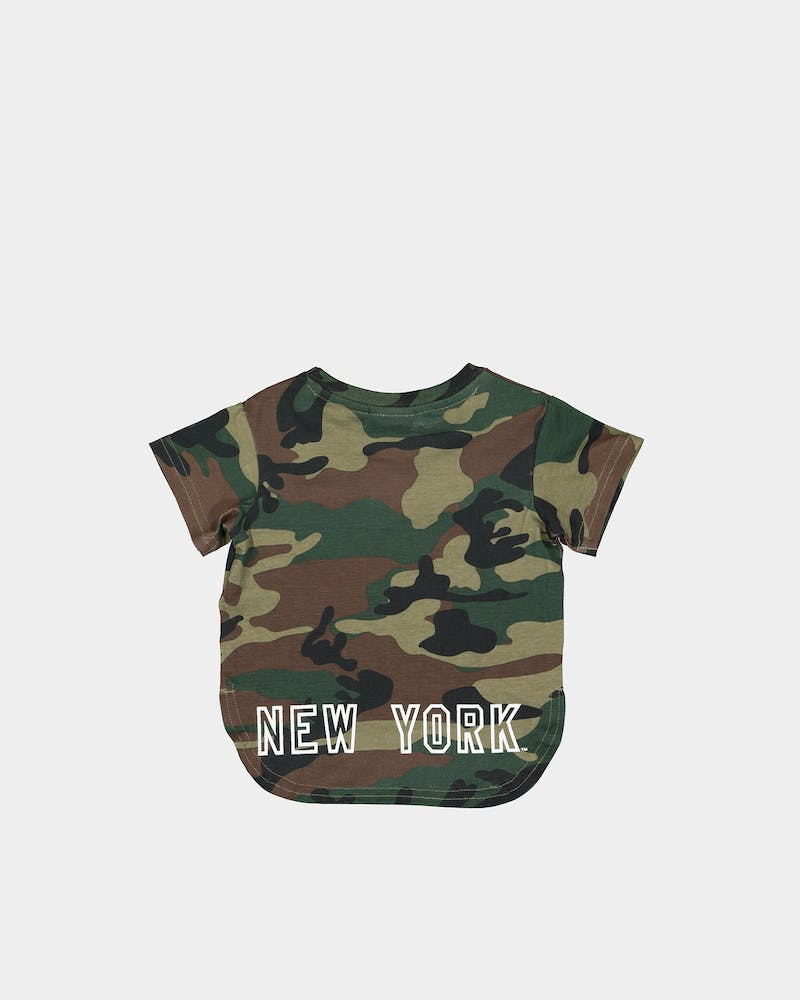 MAJESTIC ATHLETIC INFANT NEW YORK YANKEES BICESTER TEE CAMO