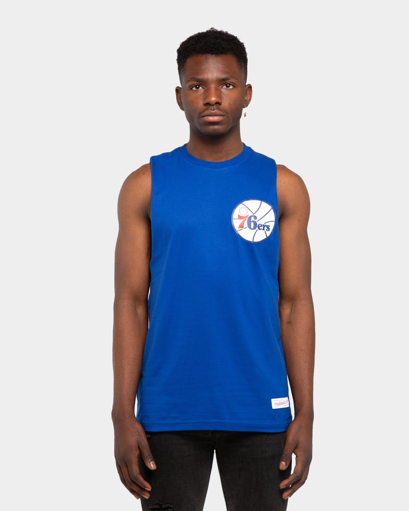 Mitchell & Ness Philadelphia 76ers Old English Muscle Royal