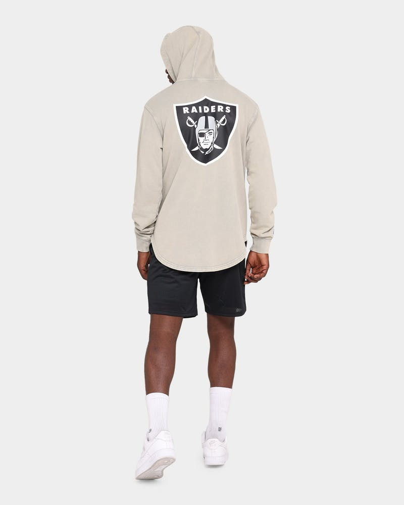 Majestic Athletic Raiders Duke Washed Hoodie Snow Wash Pale