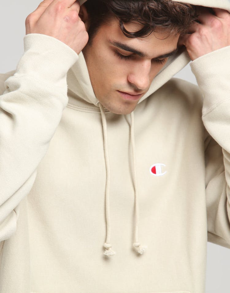 Champion Reverse Weave Hoodie Cocoa Butter