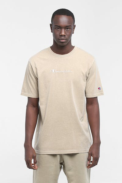 Champion Dyed Washed Tee American Khaki