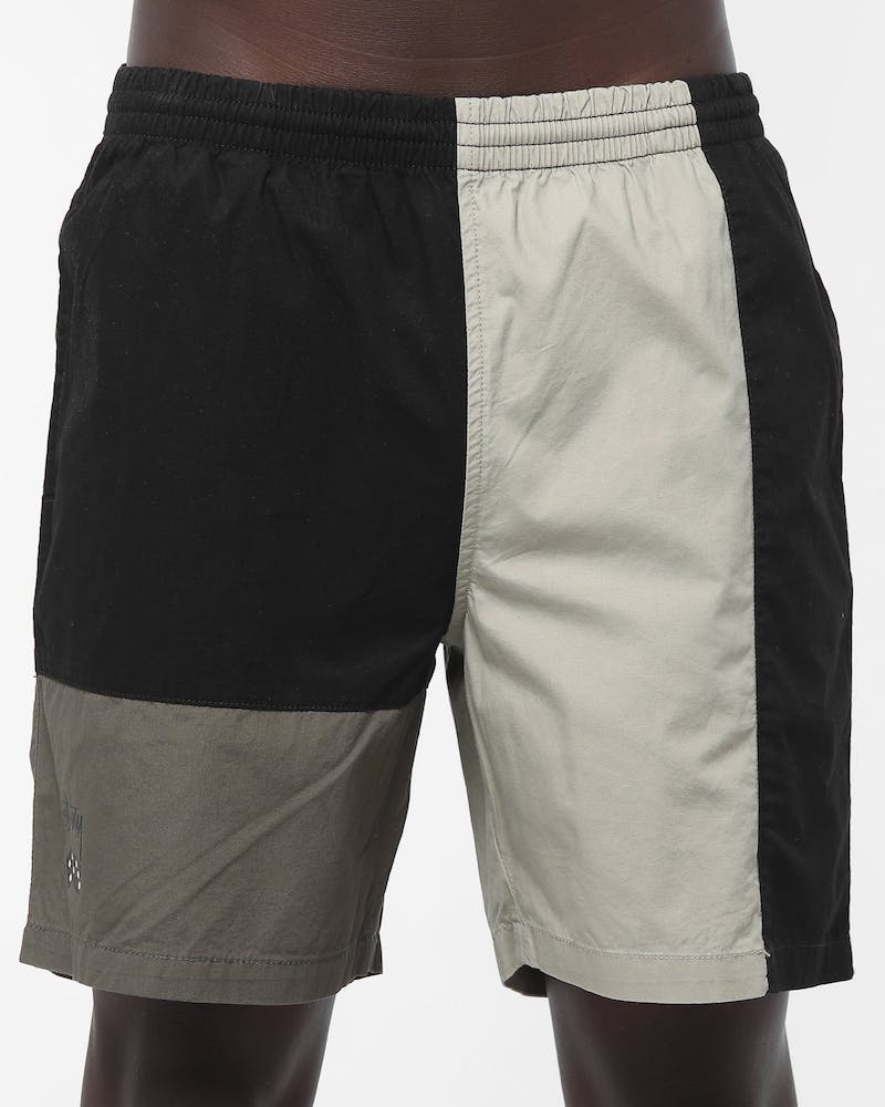 Stussy Roll The Dice Beach Short Black/Khaki