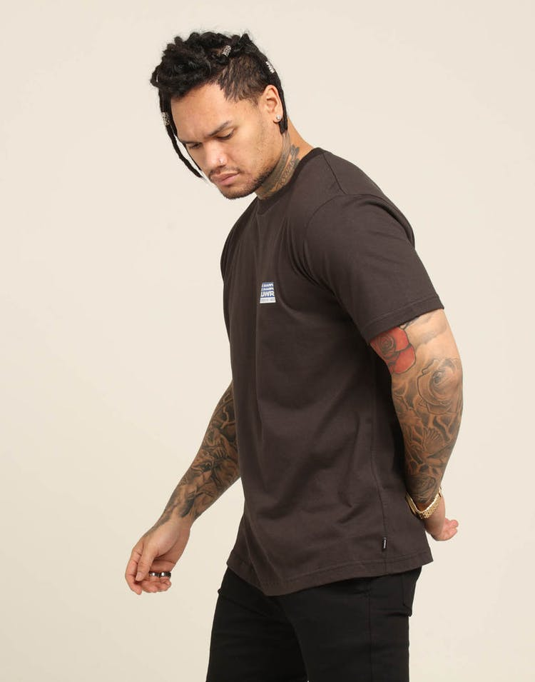 Lower Visions QRS Tee Charcoal