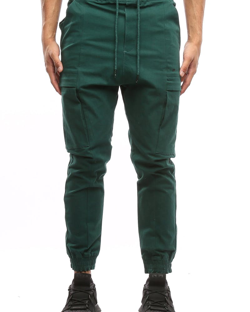 Thing Thing Packed Para Pant Forest Green