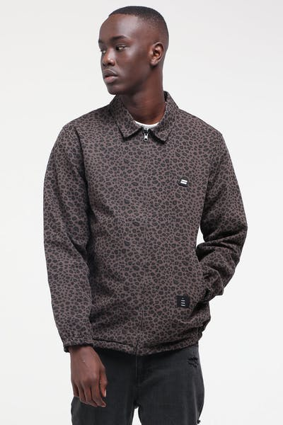 Thing Thing Washed Mach Jacket Leopard Grey