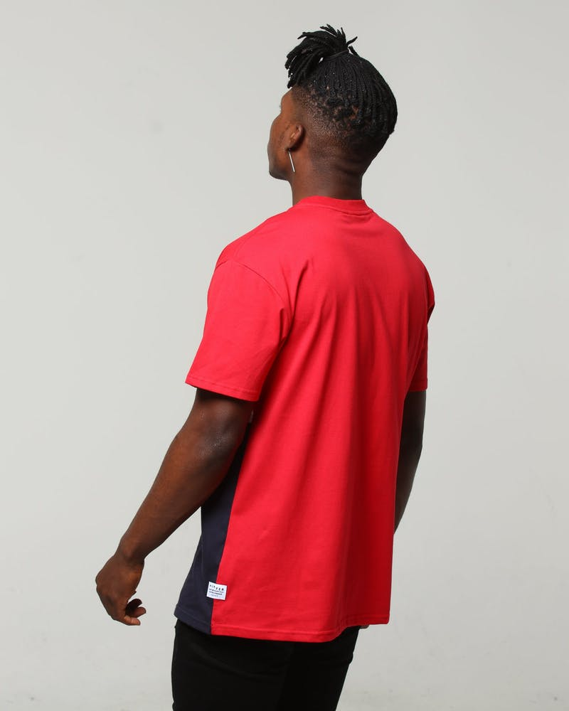 Huffer Hydro Sup Tee Red