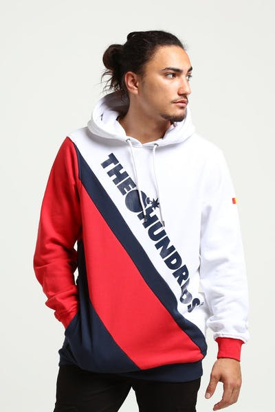 The Hundreds Slope Pullover White