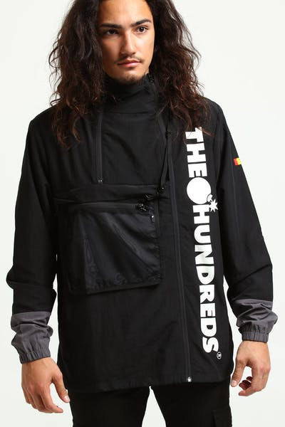 The Hundreds Terrain Parka Jacket Black