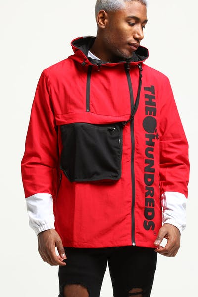 The Hundreds Terrain Parka Jacket Red