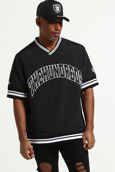 The Hundreds Stadium Windbreaker Black