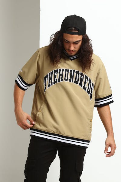 The Hundreds Stadium Windbreaker Khaki
