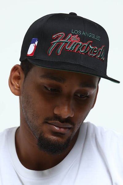 The Hundreds Team Two Snapback Black